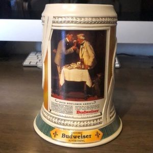 "Budweiser ""When Gentlemen Agree"" Stein"